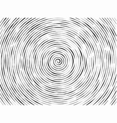 Black and white abstract modern concentric vector