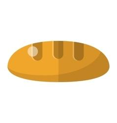 Bread flat icon vector
