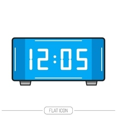Electronic watch Flat color icon isolated vector