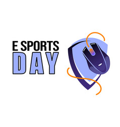 Esports game day poster for tournament events pc vector