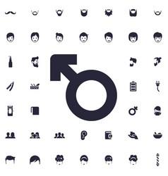 Gender woman icon vector