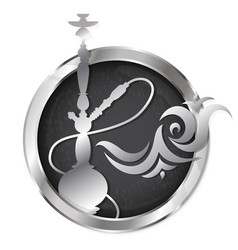 Hookah symbol vector