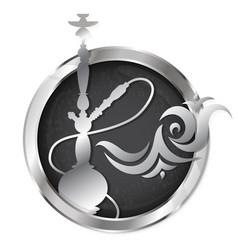 hookah symbol vector image