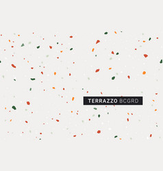 terrazzo modern print background vector image