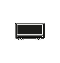 tv icon - television screen - technology symbol vector image