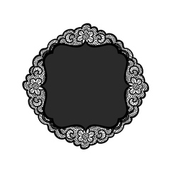 vintage lacy background vector image vector image