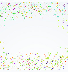 abstract festive dotted paint splatter layout vector image