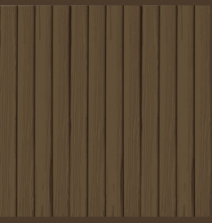 abstract wood plank in vertical dark brown vector image