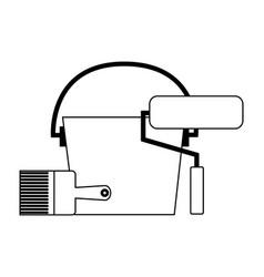 construction equipment icon vector image