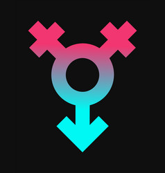 female and male gender sex icon vector image