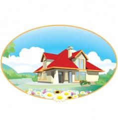 House emblem vector