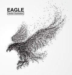 Particle Eagle composition vector