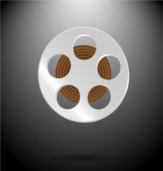 Spool film vector