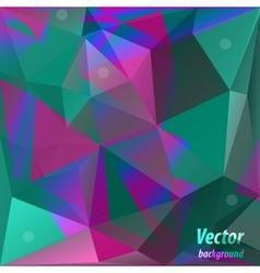 triangle shiny vintage background vector image