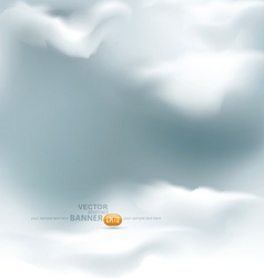 grey sky vector image vector image