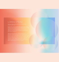 abstract modern background with gradient vector image