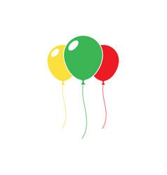 Ballon icon vector