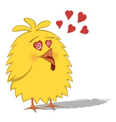 Funny chickens vector