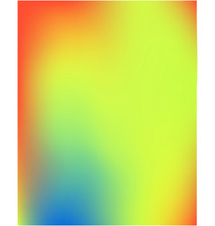 gradient mesh painted in different colors vector image