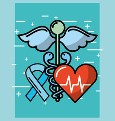 health medical related vector image