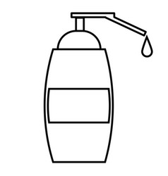 liquid soap icon vector image