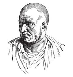 Publius cornelius scipio africanus vintage vector