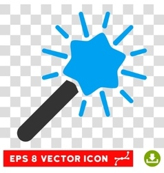 Wizard Wand Eps Icon vector