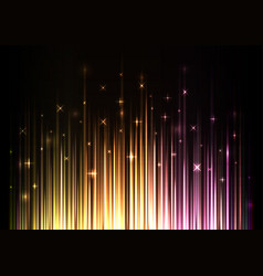sparkling light stream from under background vector image vector image