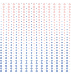 halftone dots pink and blue pastel color vector image vector image