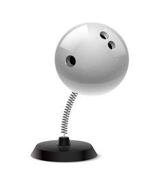 Bowling souvenir vector