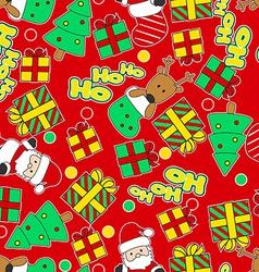 Ho Ho Ho Santa vector image