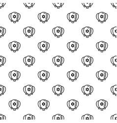 Jewish ballons pattern seamless vector