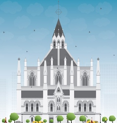 Library of Parliament Ottawa Ontario vector