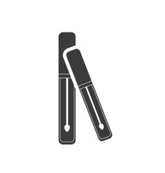 Maskara makeup product icon vector