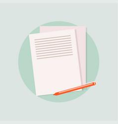 Office checks forms priority list checks check vector