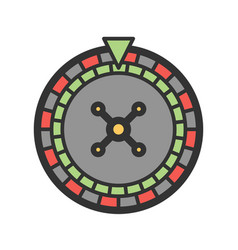 Roulette i vector