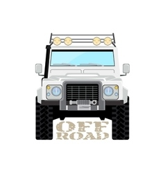 Safari offroad car truck 4x4 vector