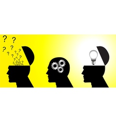 Thinking Process vector