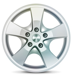 Wheel rim vector