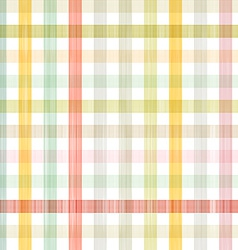 Retro Square Tablecloth Seamless Pattern vector image vector image