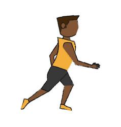 Athlete vector