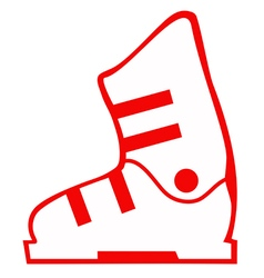 BOOT1 03 vector image