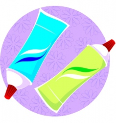 Color tubes vector