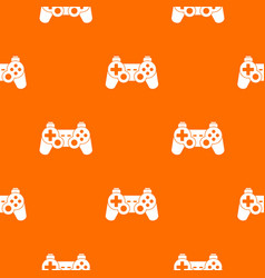 Game controller pattern seamless vector