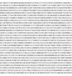 random hexadecimal code stream abstract digital vector image