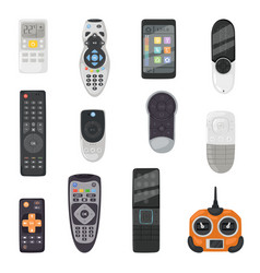 Remote control tv remoted controller vector