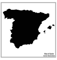 Spain map vector