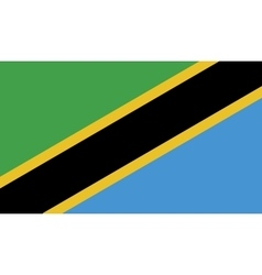 Tanzania flag image vector
