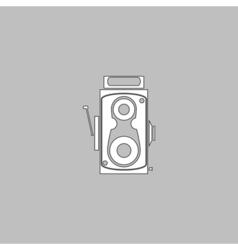 Cinema camera computer symbol vector image vector image