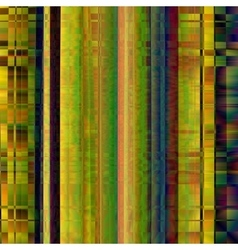 Glitch Colorful abstract background for your vector image vector image